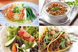 cuisiner pour la semaine diabète de type 2 menus dîners de la semaine pour le prévenir
