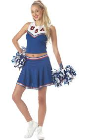 Girls Cheerleader Halloween Costume American Cheerleader Costume Cheerleader Costume Costumes