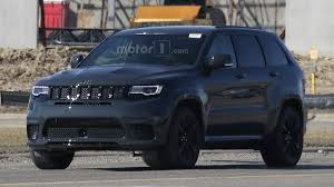 trackhawk jeep jeep grand cherokee trackhawk u0027s monster motor spied