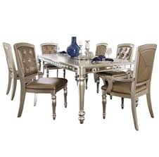 Silver Dining Tables Orsina Silver Dining Table For 499 94 Furnitureusa