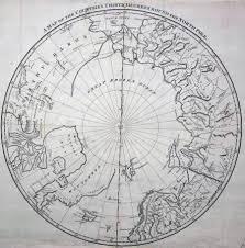 North Pole Map Antique Maps Tooley Adams
