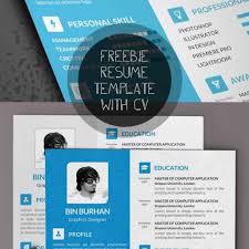 free modern resume templates u0026 psd mockups freebies graphic