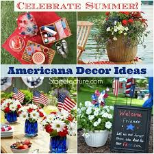 Memorial Day Decor How To Celebrate Memorial Weekend With Americana Decor