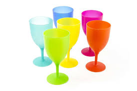 best plastic wine glasses on stemless stackable
