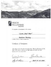 Sample Ministry Resume by Between The Bars Two Drawings Ministry Certificate Resume
