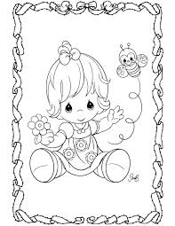 interesting precious moments baby coloring pages 609