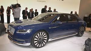 Lincoln Continental Matrix Lincoln Continental Concept Unveiled Previews An All New