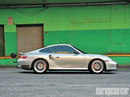 porsche 996 2003 porsche 996 twin turbo evoms 996 european car magazine