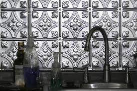 metal backsplash kitchen metal backsplash ideas hgtv