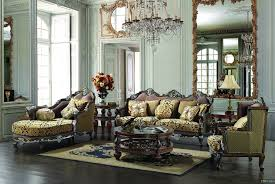 European Living Room Furniture Traditional Upholstery European Design Formal Living Room