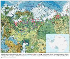 North European Plain Map by Research Laboratory For Quaternary Geochronology