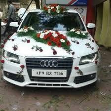 Wedding Car Decorations Wedding Car Decoration In India