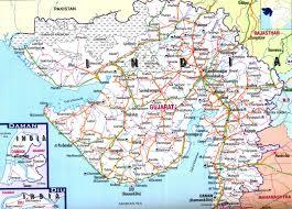 India Language Map by Gujarat Tourism Gujarat Map
