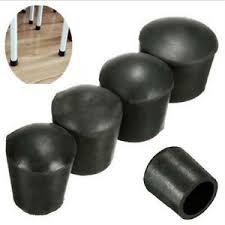 plastic table leg feet 4 x plastic rubber round table chair leg feet tube pipe insert end