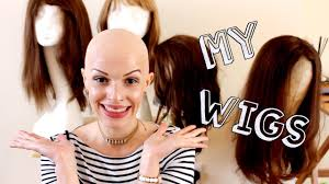my wig collection storage and try on hairy escape youtube