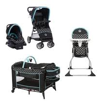 High Chair Deals Disney Mickey Mouse Baby Gear Bundle Stroller Travel System Play