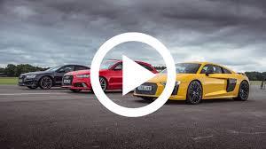 nissan gtr vs audi r8 audi r8 v10 plus vs rs6 vs s8 drag race