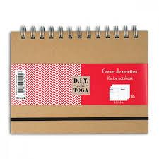 cahier de cuisine vierge cahier de recettes 18 5x13 5cm 80 pages à compléter loisirs