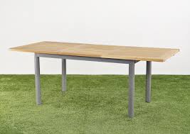 racha extendable dining table boulevard outdoor inspirations