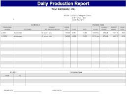 shop report template daily production report template sle bakery