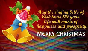 merry wishes with jingle bells image