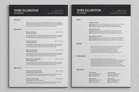 best resume template 2 best 2 page resume templates rapid writer
