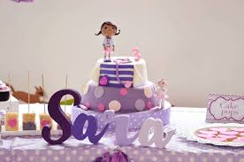 doc mcstuffins birthday cake kara s party ideas birthday cake and name banner from a doc