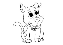 scooby doo pup colouring pages 2 pup named scooby