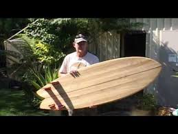 bogong a chambered wooden surfboard youtube