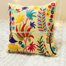 Cargo Furniture Cushion Covers Hand Embroidery Cushion Cover Hand Embroidery Cushion Cover