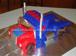 optimus prime cakes cool optimus prime birthday cake