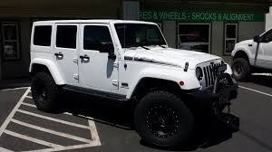 jeep wrangler white 4 door custom car shop tsa custom car and truck accessories