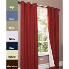 Insulated Curtains Thermalogic Weathermate Grommet Top Panel