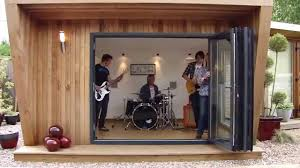 music studio with sound proofing by green retreats youtube