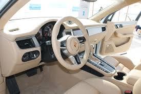 porsche macan interior 2014 porsche macan drive automiddleeast com