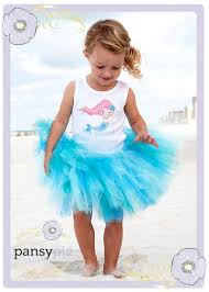 Mermaid Halloween Costume Toddler Mermaid Tutu Dress Toddler Tank Pansypieboutique