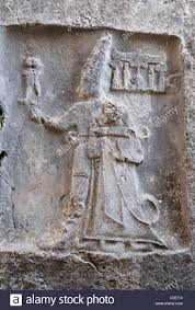 th e chambre b god sharruma and king tudhaliya iv chamber b yazilikaya turkey