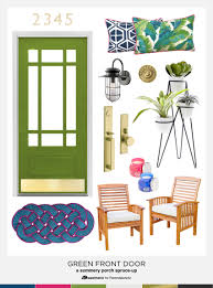 porch clipart remodelaholic summer porch inspiration green front doors