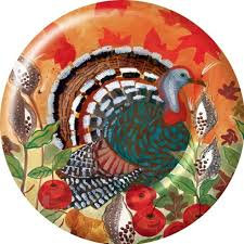 designer thanksgiving paper plates themontecristos