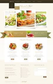 website template 42682 master chef book custom website template
