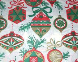 vintage wrapping paper etsy