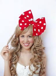 polka dot hair 25 best hair bands images on bow clip hair ribbons