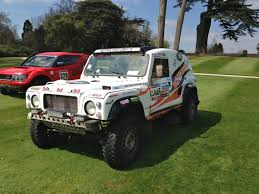 land rover bowler bowler exr s range rover based rally car set for the road