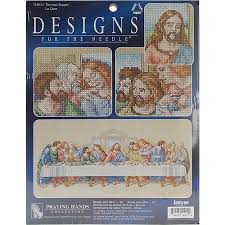 the last supper counted cross stitch kit 26 1 2 x 10 14 count