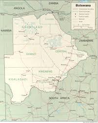 Botswana Map Botswana Test Page