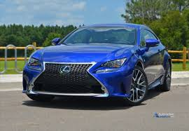 lexus van 2015 2015 lexus rc 350 f sport review u0026 test drive