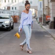 style ideas jeans outfit ideas popsugar fashion australia