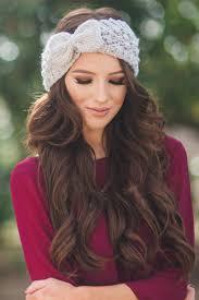 bow headband knit bow headband morning lavender