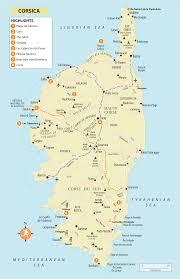 Corsica Map Rg B Format