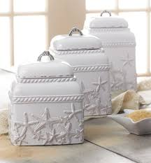 themed kitchen canisters starfish canister set